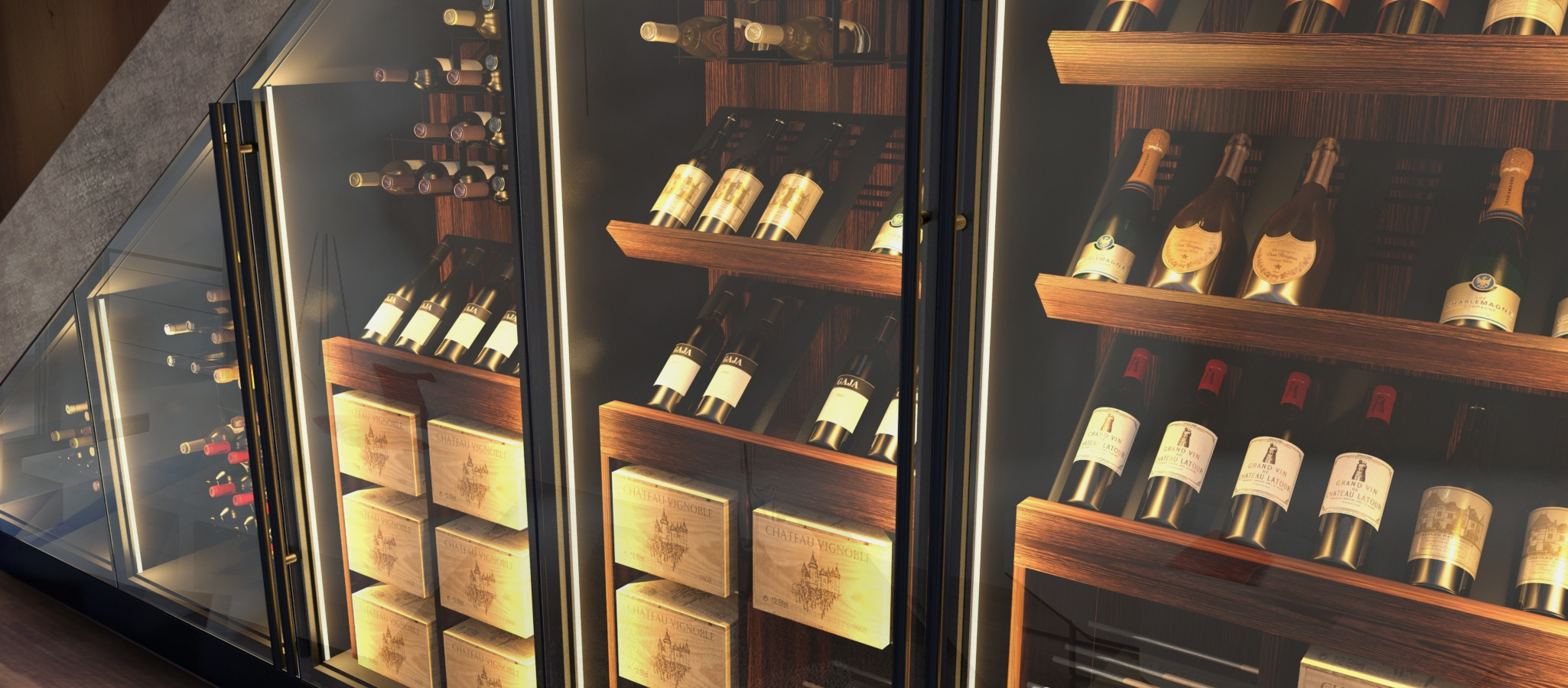 Esigo Custom Wine Cabinet SLIDE 11